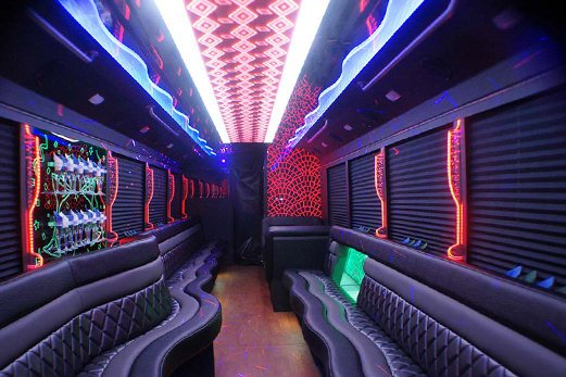 cleveland limousine the first choice for party bus services. Black Bedroom Furniture Sets. Home Design Ideas